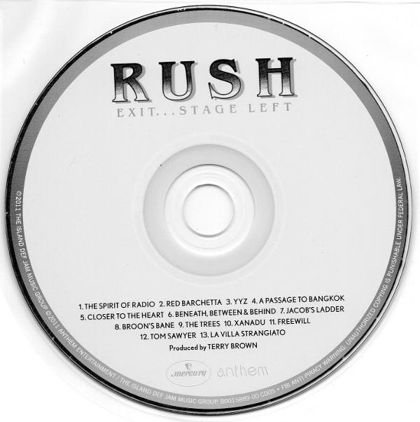 Cd, Rush - Sector 2