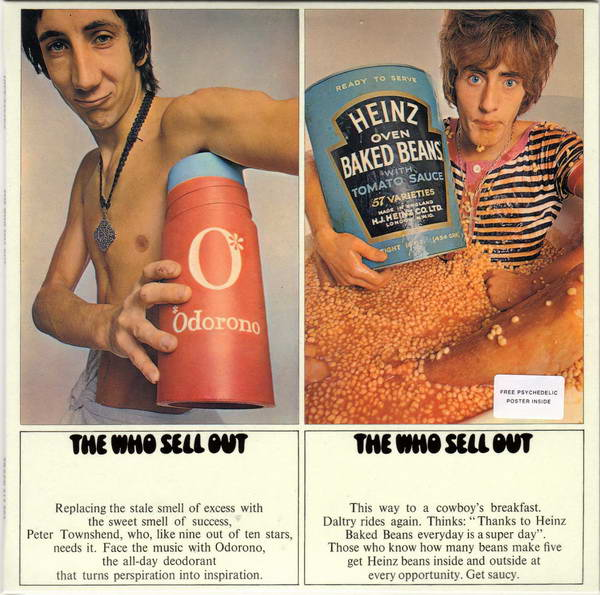 Front Cover (disc one), Who (The) - Sell Out