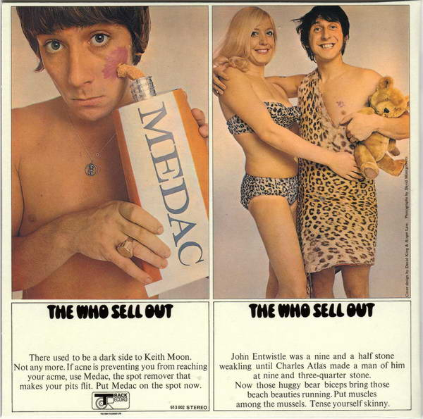 Front Cover (disc two), Who (The) - Sell Out