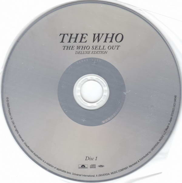 Disc One, Who (The) - Sell Out