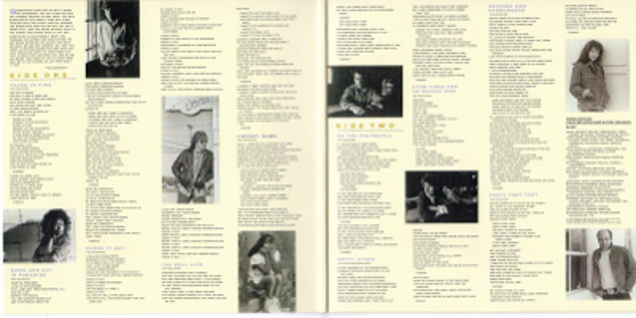Inside gatefold sleeve, Cougar Mellencamp, John - The Lonesome Jubilee