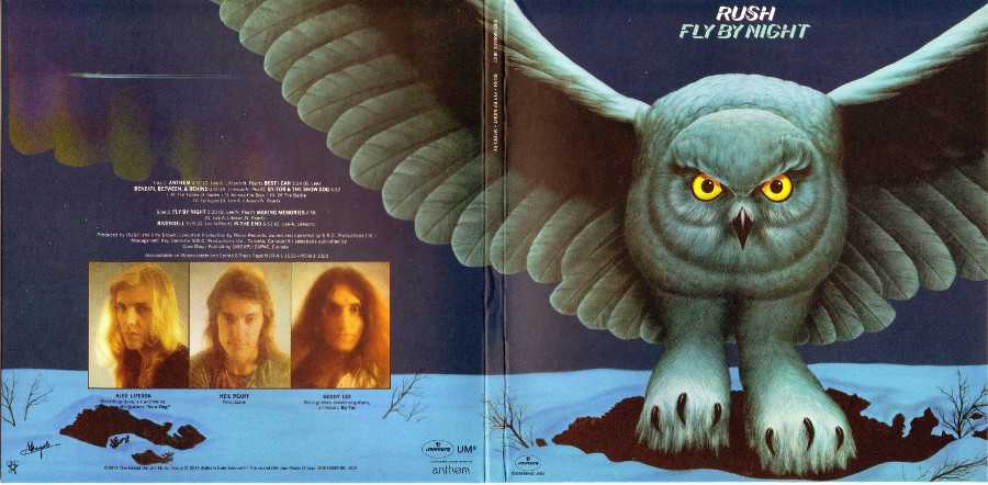 Front gatefold sleeve, Rush - Sector 1