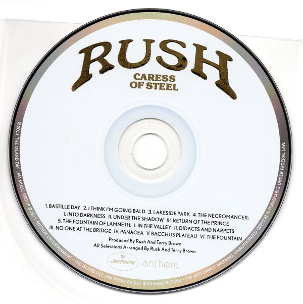 Cd, Rush - Sector 1