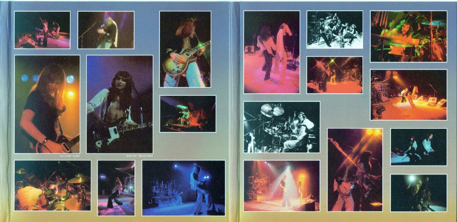 Inside triple gatefold middle part and last part, Rush - Sector 1