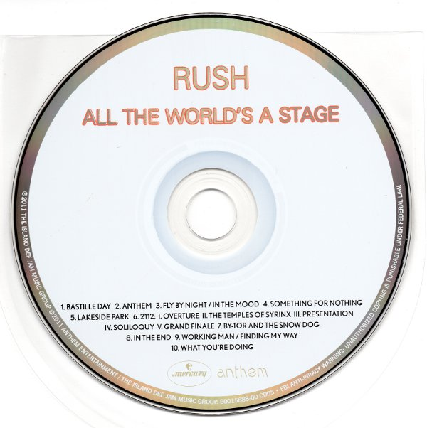 Cd, Rush - Sector 1