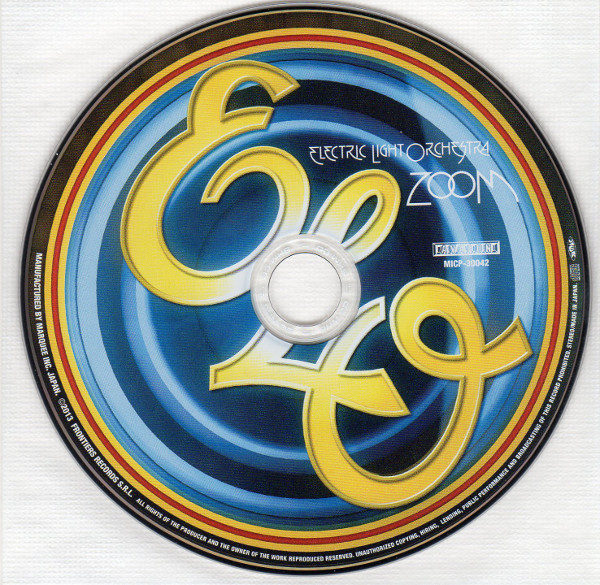 Cd, Electric Light Orchestra - Zoom + 3 bonus tracks