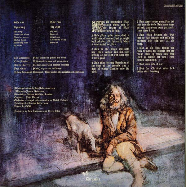 Back cover, Jethro Tull - Aqualung +6