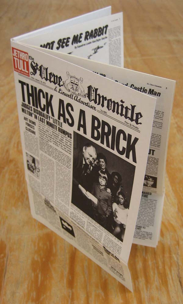 Open, Jethro Tull - Thick As A Brick +2