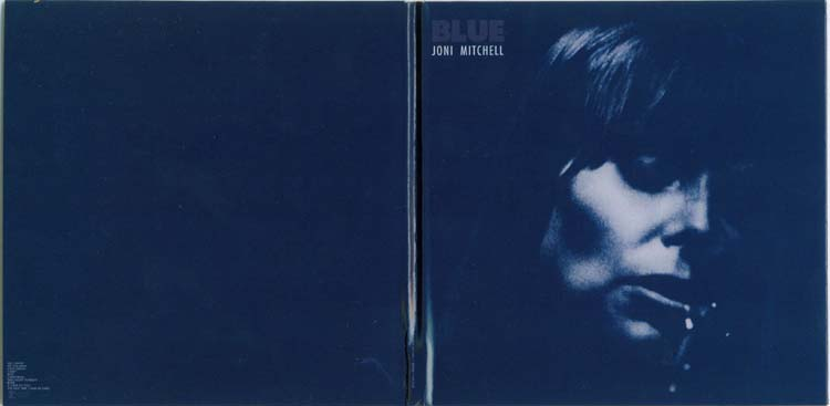 Open gatefold cover, Mitchell, Joni - Blue