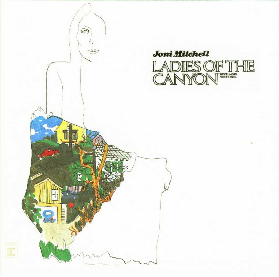 Cover no obi, Mitchell, Joni - Ladies Of The Canyon