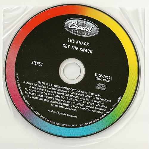 CD, Knack (The) - Get The Knack