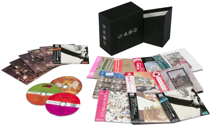 Contents, Led Zeppelin - 40th Anniversary Definitive Collection (Zoso Box)