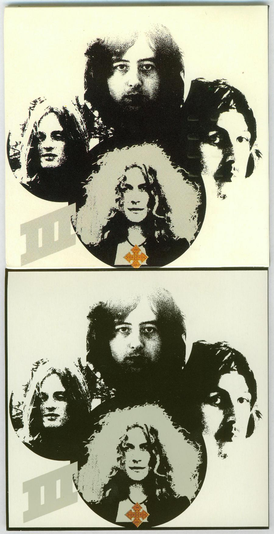 III Back - fake on top - no black border, Led Zeppelin - Fake Led Zeppelin - 40th Anniversary Definitive Collection (Zoso Box)