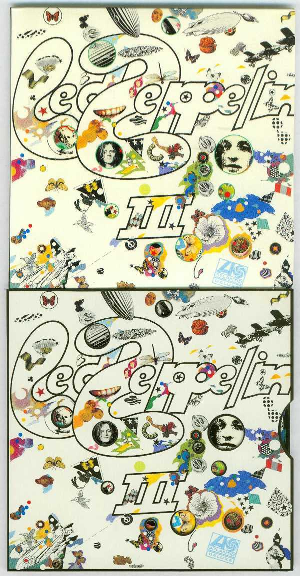 III Front - fake on top - no wheel and no black border, Led Zeppelin - Fake Led Zeppelin - 40th Anniversary Definitive Collection (Zoso Box)