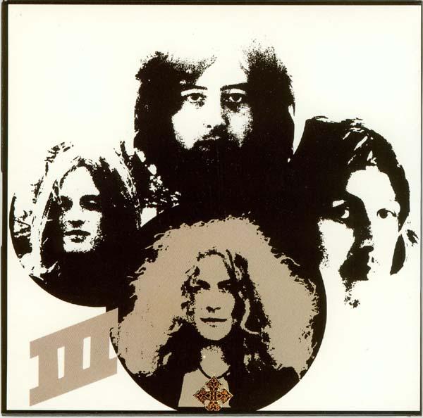Back cover, Led Zeppelin - III