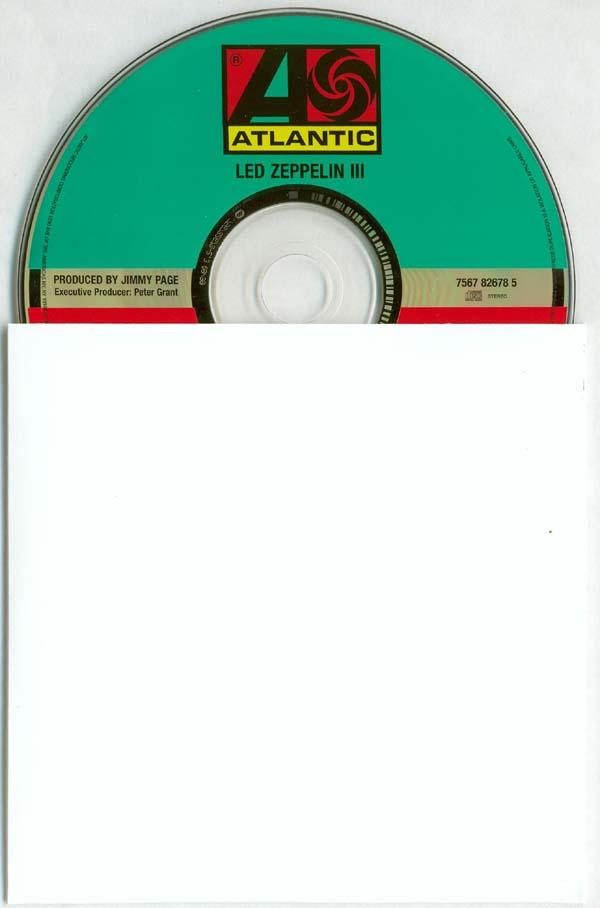 CD and inner bag, Led Zeppelin - III