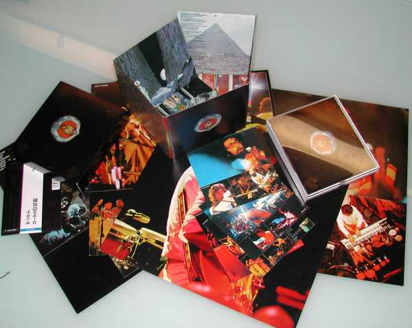 Conents (the pictured 12 by 12 cards did not come with this release), Santana - Lotus