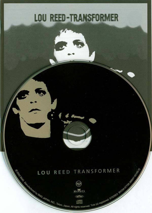 CD and booklet, Reed, Lou - Transformer +2