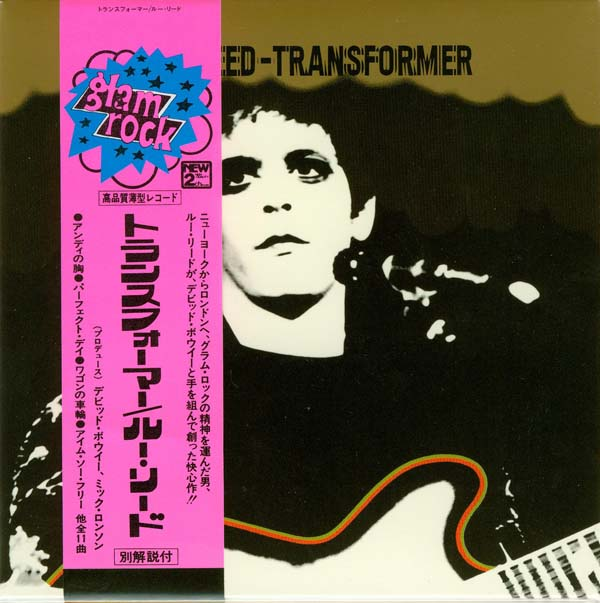 Cover with promo obi, Reed, Lou - Transformer +2