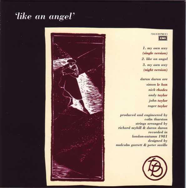 CD4 Sleeve [Back], Duran Duran - The Singles 81-85 Boxset