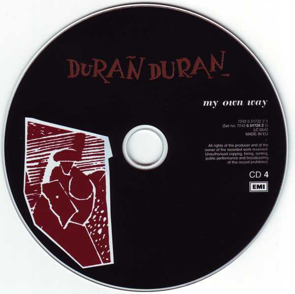 CD4 [Disc], Duran Duran - The Singles 81-85 Boxset