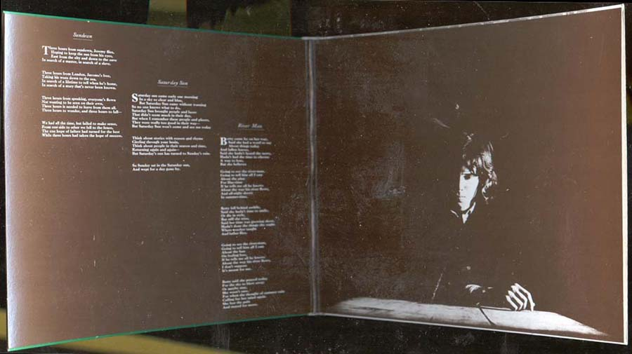 Inside gatefold cover, Drake, Nick - Five Leaves Left