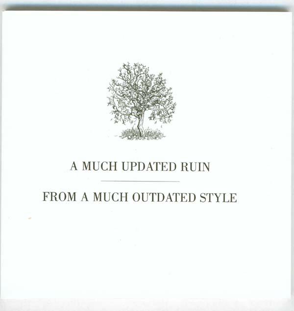 Fruit Tree Booklet - front cover, Drake, Nick - Fruit Tree Box Set