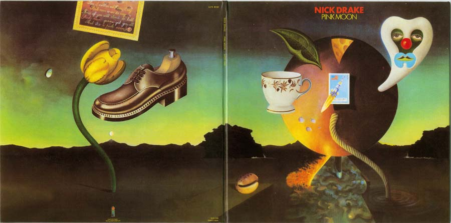 Open gatefold cover, Drake, Nick - Pink Moon
