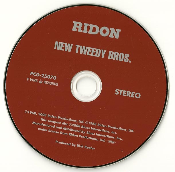 Disc, New Tweedy Bros (The) - The New Tweedy Bros