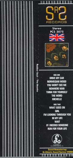 Obi, Beatles (The) - Rubber Soul