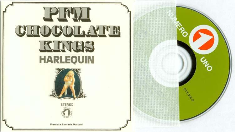3 inch CD and replica 45 rpm cover, Premiata Forneria Marconi (PFM) - Passpartu Box