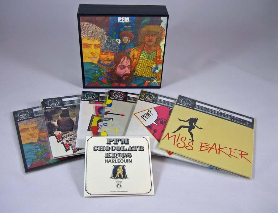 Contents, Premiata Forneria Marconi (PFM) - Passpartu Box