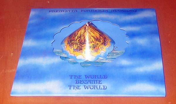 Die cut mountain removed and assembled, Premiata Forneria Marconi (PFM) - The World Became The World
