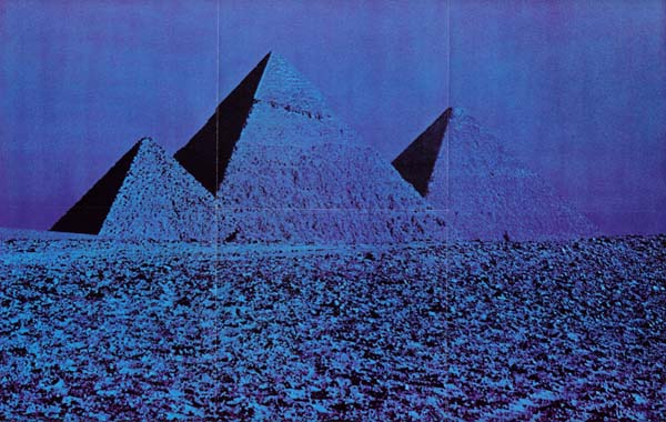 Pyramid Poster, Pink Floyd - The Dark Side Of The Moon