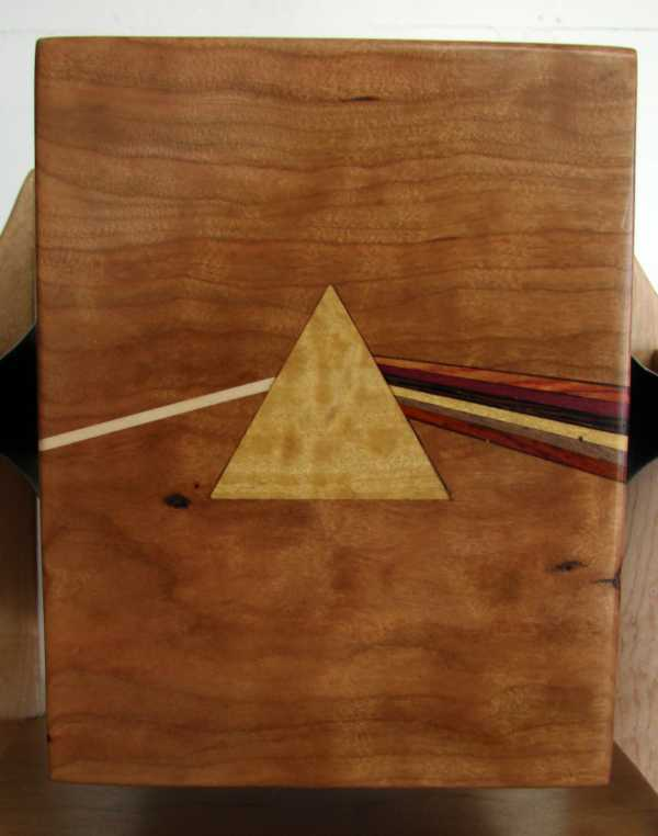 Front panel for mini LP CDs - prism inlay, Pink Floyd - Hudson Dark Side of the Moon Box