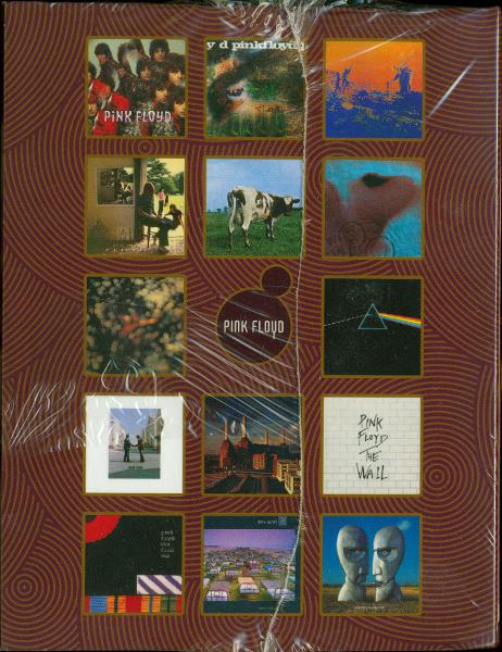 Spine of box (still in shrink wrap), Pink Floyd - Oh By The Way: European Box Set