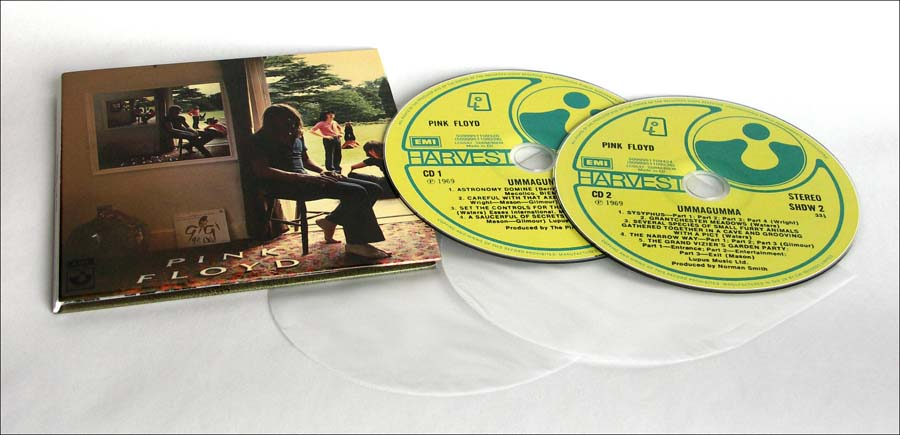 Ummagumma, Pink Floyd - Oh By The Way: European Box Set