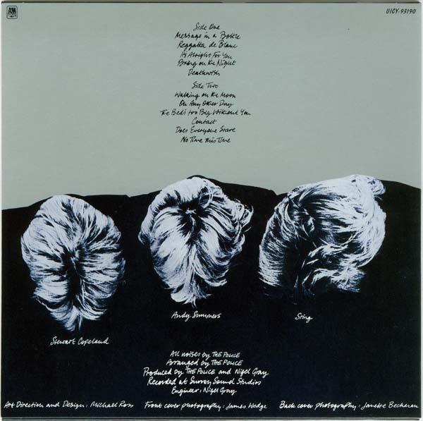 Back cover, Police (The) - Regatta de Blanc (enhanced)