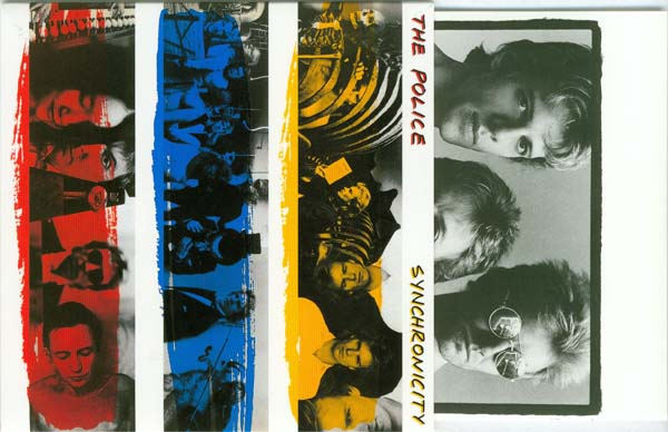 Front cover and inner, Police (The) - Synchronicity (enhanced)