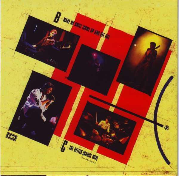 CD11 Sleeve [Back], Duran Duran - The Singles 81-85 Boxset