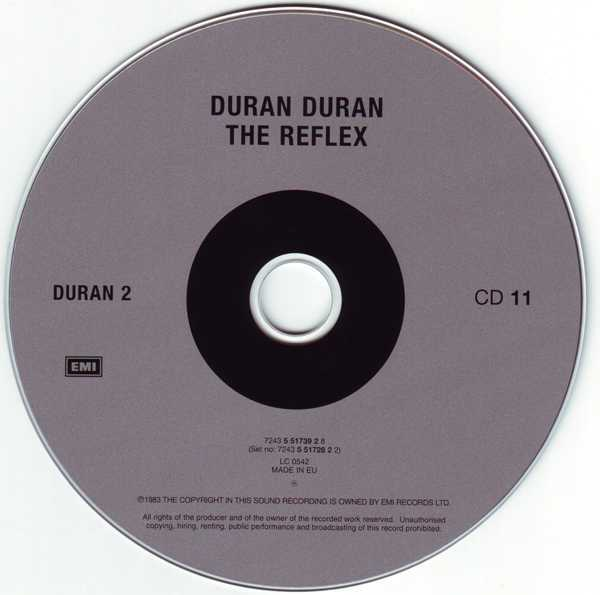 CD11 [Disc], Duran Duran - The Singles 81-85 Boxset