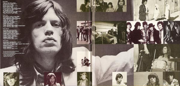Gatefold (inside), Rolling Stones (The) - More Hot Rocks +3