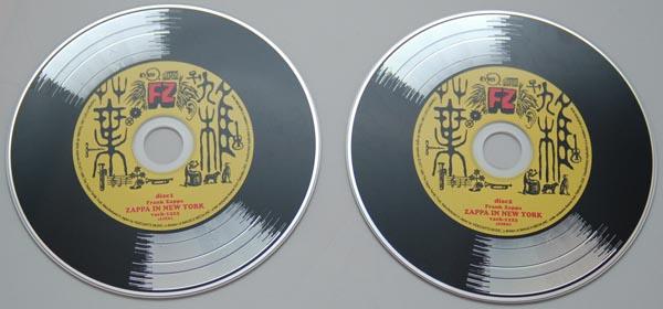 CDs, Zappa, Frank - Zappa In New York