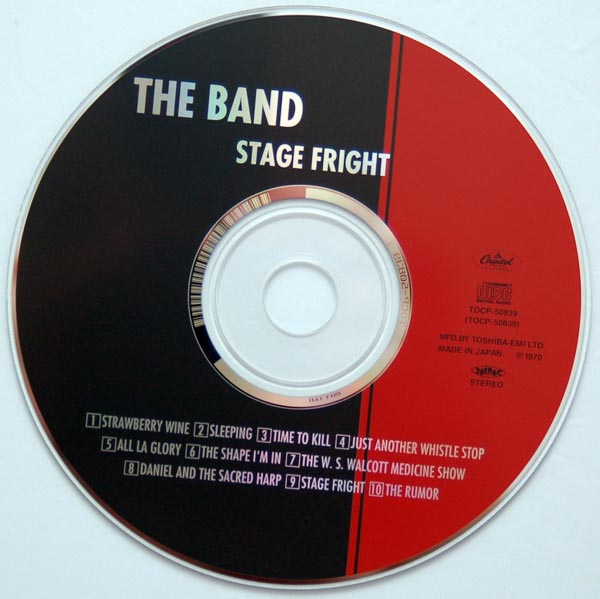 CD, Band (The) - Stage Fright +4