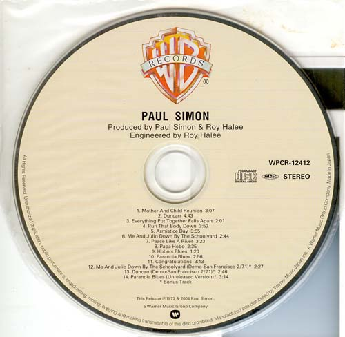 , Simon, Paul - Paul Simon
