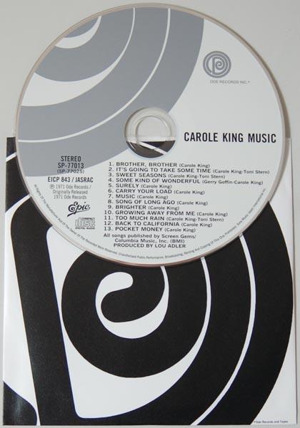 CD, King, Carole  - Music
