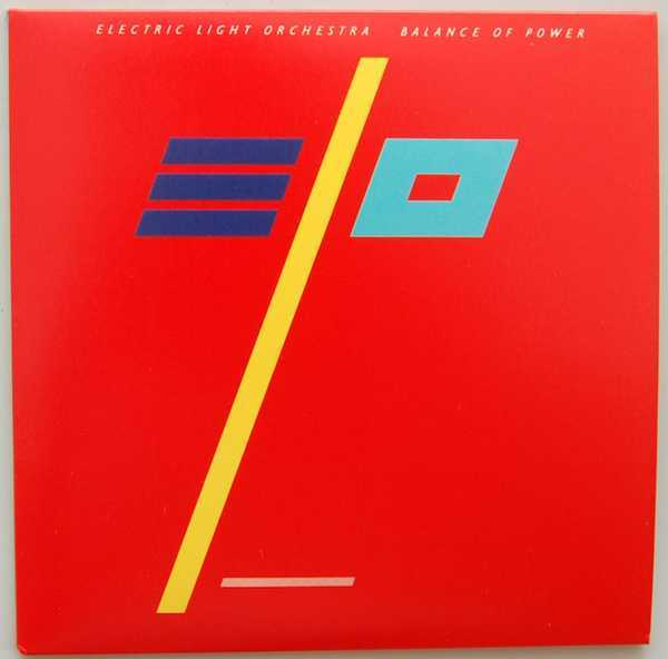 Front Cover, Electric Light Orchestra (ELO) - Balance Of Power