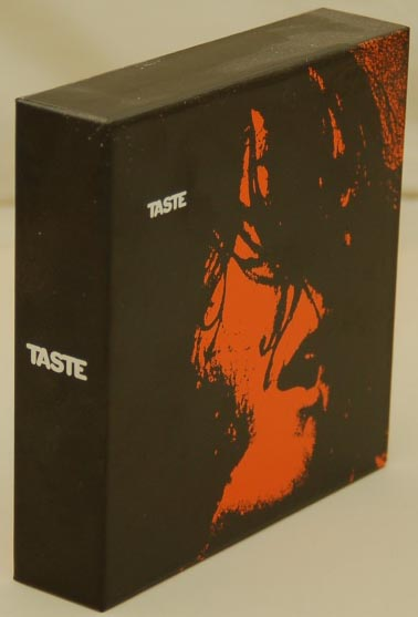 Front lateral view, Taste - Taste Box