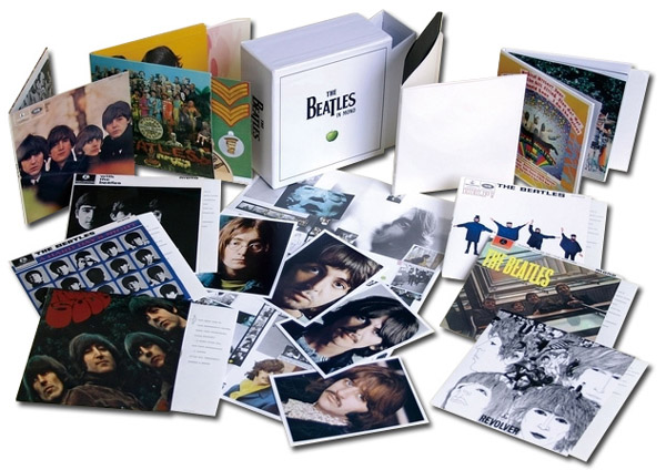 Contents (promo photo - covers only), Beatles (The) - The Beatles in Mono