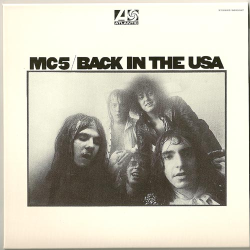 Front w/o OBI strip, MC5 - Back In The USA